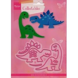 Vyřezávací šablona - dinosauři