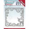 Vyřezávací šablona - vánoční sen