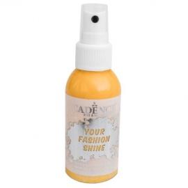 Spray na textil 100 ml - krycí perleťový - žlutý