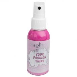 Spray na textil 100 ml - krycí perleťový - růžový