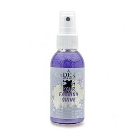 Spray na textil 100 ml - krycí perleťový - fialový