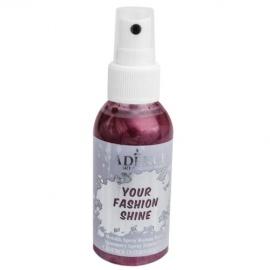 Spray na textil 100 ml - krycí perleťový - bordo