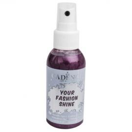 Spray na textil 100 ml - krycí perleťový - lilek