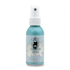 Spray na textil 100 ml - krycí perleťový - tyrkysový