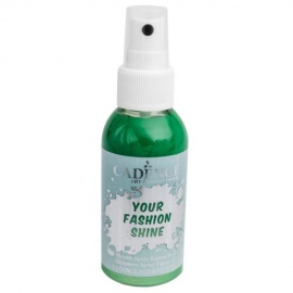 Spray na textil 100 ml - krycí perleťový - světle zelený