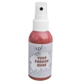 Spray na textil 100 ml - krycí perleťový - měděný