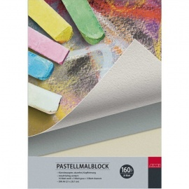 Blok pastellmalblock 160g 20lis A3