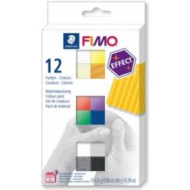 Sada FIMO 12*25 gr - efektové
