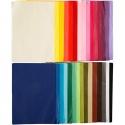 Hedvábný papír 14 gr.formát A4 - 300 listů v 30 odstínech