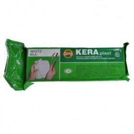 Modelovací hmota 300 gr Kera - bílá