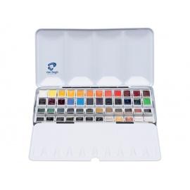 Sada akvarelových barev VanGogh 48 x 1/2 panviček