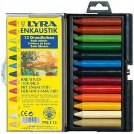 Enkaustické voskovky  6 ks - základní barvy