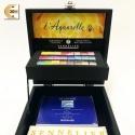 Sada akvarelových barev Sennelier 24 ks v mistrovské - black box