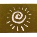 Šablona 8*3,5 cm - spirála