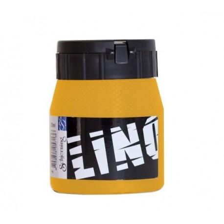 Barva na linoryt 250 ml- zlatožlutá