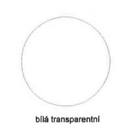 Tiskařská barva pro ofset a litografii 60 ml - bílá transparetní