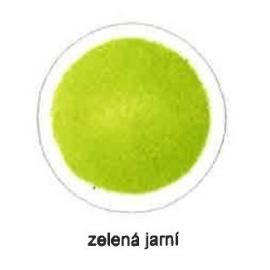 Tiskařská barva pro ofset a litografii 60 ml - jarní zelená