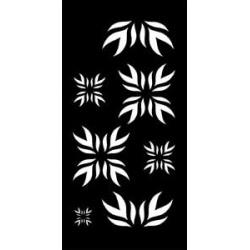 Šablona 15*30 cm -indie