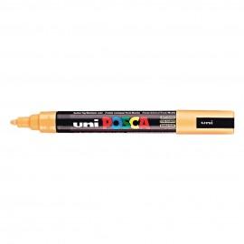 Uni Posca PC5 - akrylový fix 2,5 mm - světle oranžová