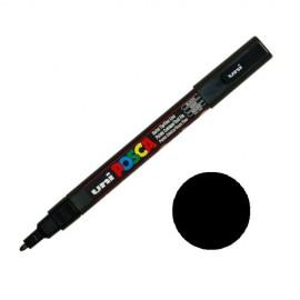 Uni Posca PC3 - akrylový fix 0,9-1,2mm - černá