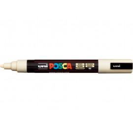 Uni Posca PC5 - akrylový fix 2,5 mm - smetanová