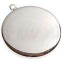 Lůžko kolečko stříbrné 2,5 cm