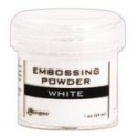 Embossový pudr - bílý