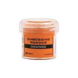 Embossový pudr - oranžový