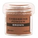 Embossový pudr - brown
