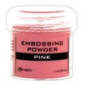 Embossový pudr - pink