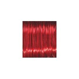 Měď.lak drát 0,3 mm/80 m-červený