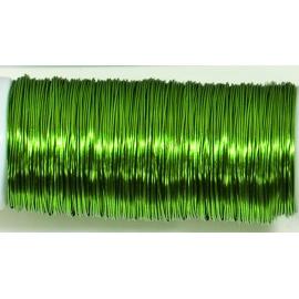 Měď.lak drát 0,3 mm/80 m-zelený