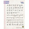Silikonové razítko - abeceda 15*10 cm