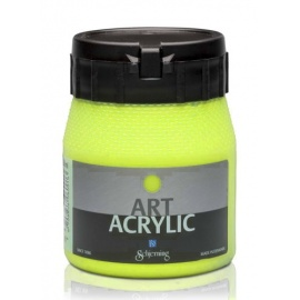 Art Acrylic 250 ml- fluo žlutá