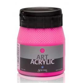 Art Acrylic 250 ml- fluo růžová