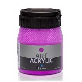 Art Acrylic 250 ml- fluo fialová