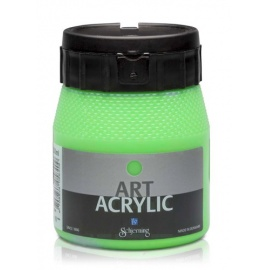 Art Acrylic 250 ml- fluo zelená