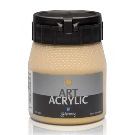Art Acrylic 250 ml- metal gold light