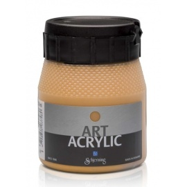 Art Acrylic 250 ml- metal gold dark