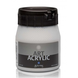 Art Acrylic 250 ml- metal silver