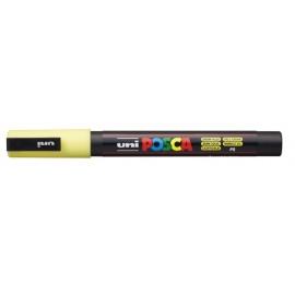 Uni Posca PC3 - akrylový fix 0,9-1,2mm - světle žlutá