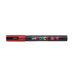 Uni Posca PC3 - akrylový fix 0,9-1,2mm - červená
