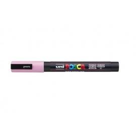 Uni Posca PC3 - akrylový fix 0,9-1,2mm - světle růžová