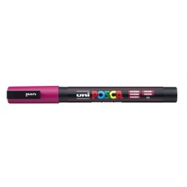 Uni Posca PC3 - akrylový fix 0,9-1,2mm - fuchsiová