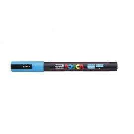 Uni Posca PC3 - akrylový fix 0,9-1,2mm - světle modrá