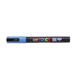 Uni Posca PC3 - akrylový fix 0,9-1,2mm - nebesky modrá