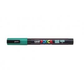 Uni Posca PC3 - akrylový fix 0,9-1,2mm - smaragdová