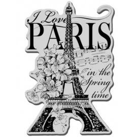 Razítko pohlednice a Eifelovkou