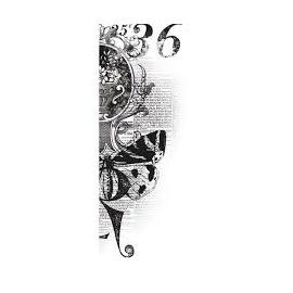 Silikonové razítko 36