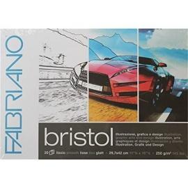 Blok Bristol Fabriano A4 , 250 gr/m - 20 listů